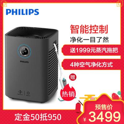 飞利浦(Philips)空气净化器AC5655/00家用卧室办公室辐射60㎡以上除甲醛颗粒物CADR 600m3/h