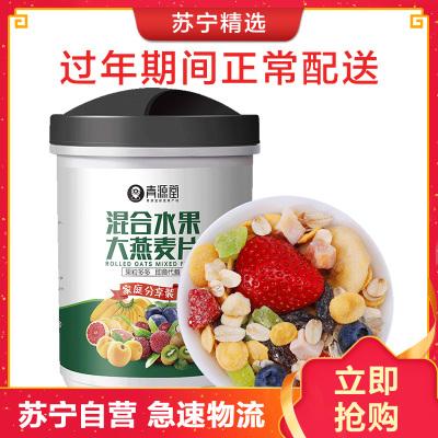 青源堂 水果燕麦片 混合水果坚果 早餐冲饮谷物水果麦片500g