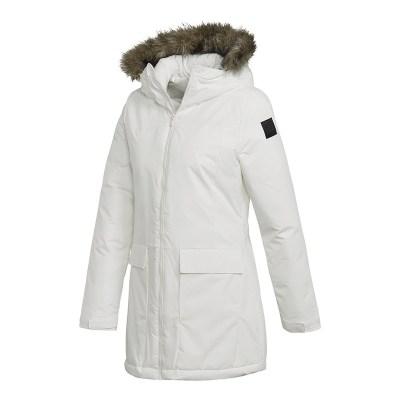 阿迪达斯(adidas)2018冬季新款女子运动服保暖棉衣棉袄外套CY8607