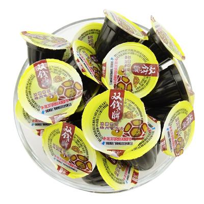 广西梧州 双钱牌 梧州龟苓膏 冰糖菊花 1500g 散装称 果冻布丁啫喱杯