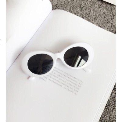 儿童装饰太阳镜新款复古外星人椭圆形太阳眼镜宝宝个性墨镜