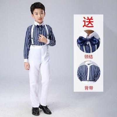 元旦兒童合唱服演出服中小學生大合唱團詩歌朗誦服裝主持人表演服