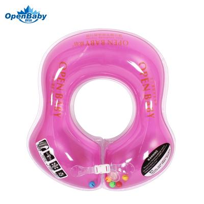 欧培(OPEN BABY)婴儿游泳圈 儿童游泳救生圈 幼儿腋下圈 紫色L码