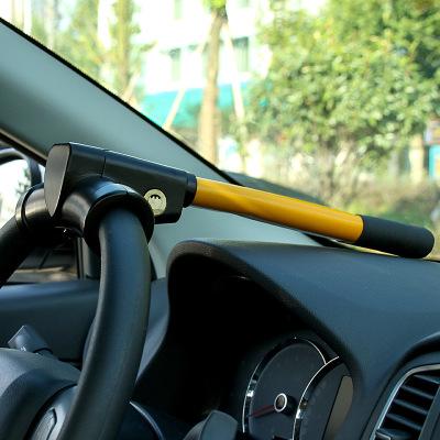 靜航(Static route)T型鎖 T形鎖 方向盤鎖 汽車方向盤鎖 車用方向盤鎖 防身防盜T鎖黑色國產品牌其他