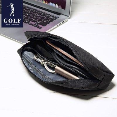 高尔夫GOLF多功能电脑配件便携收纳包 简约大容量隐藏式拉链优质电脑零件包