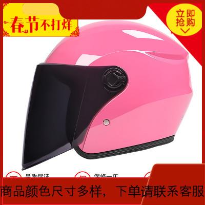 瓶摩托车头盔灰男士四季轻便式盔冬季暖冬天安全帽