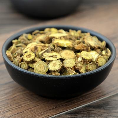 黄芩500克淡黄芩淡芩土金茶根山茶根子芩枯芩可磨芩