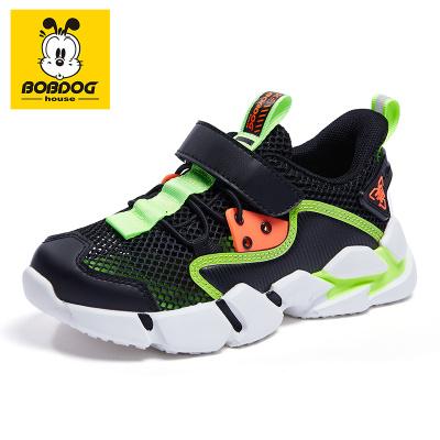 巴布豆BOBDOG HOUSE童鞋兒童運動鞋2020夏季新款款男童鞋女童網面透氣休閑鞋子