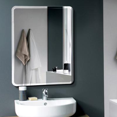 閃電客浴室鏡子免打孔廁所衛浴鏡粘貼圓鏡洗手間鏡子貼墻衛生間鏡子壁掛