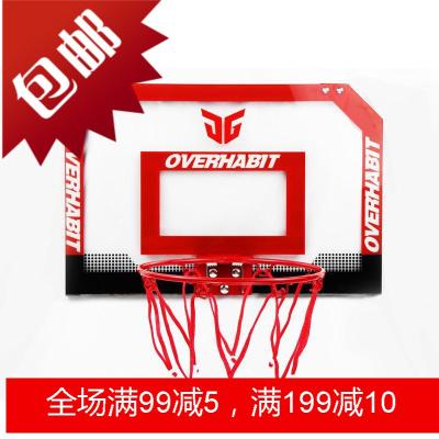 JG军哥室内迷你儿童小篮筐宿舍挂式篮板家用一号球篮球架框板