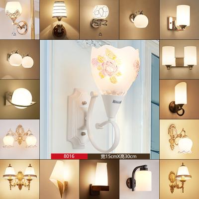 炬胜 LED壁灯床头灯创意简约现代卧室客厅厨房餐厅酒店走廊过道灯电视墙壁灯5W
