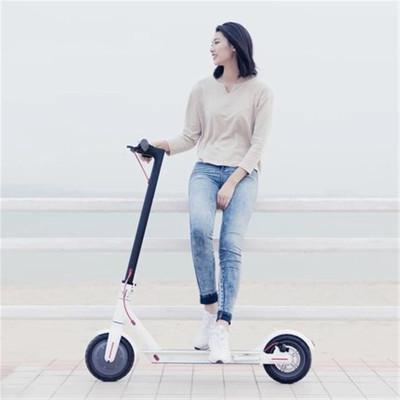 小米(xiao)滑板车米家电动滑板自行车成人可折叠男女代驾通用两轮电动平衡车踏板车代步车 小米米家电动滑板车电动车 白色