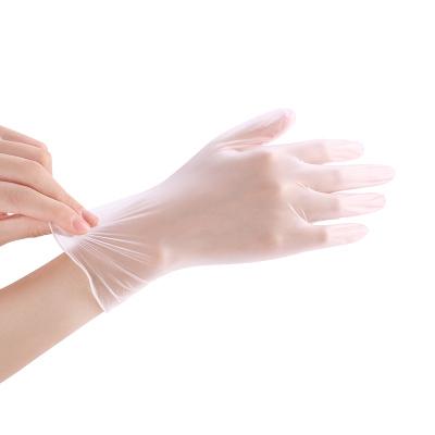 柏邦(BOBANG)一次性pvc透明手套 L碼 餐飲廚房烘焙加厚薄膜家務耐用洗碗手套女100只