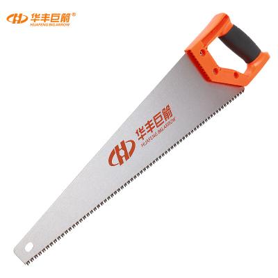 華豐巨箭(HUAFENG BIG ARROW) 手板鋸 65錳鋼鋸子 手鋸木工手鋼鋸500MM