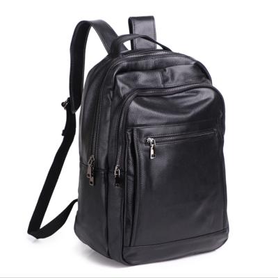 HENRY JACQUES男包2020新款BS-336男士休闲双肩包男电脑包牛皮韩版大容量背包旅行包时尚男包书包