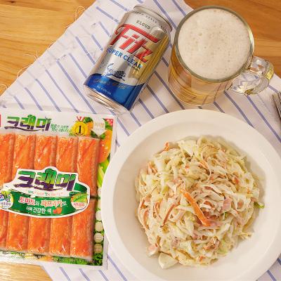 5袋!韓國進口韓星客唻美蟹味棒180g模擬蟹棒0脂肪手撕蟹柳蟹足棒海味即食蟹類零食網紅壽司火鍋代餐