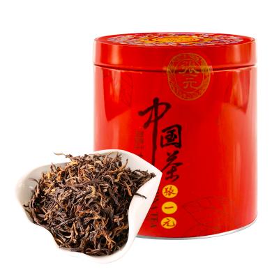 张一元 中国元素系列 红茶50g/罐 特级茶叶 云南滇红