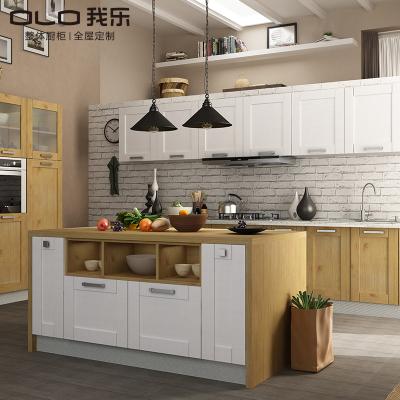 我乐厨柜 整体橱柜 厨房定制 橱柜定做 全屋定制 欧式风格 诺特
