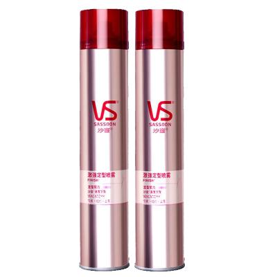 VS沙宣发胶定型喷雾300ml男士女干胶清香型碎造型非啫喱水保湿蓬松 2瓶
