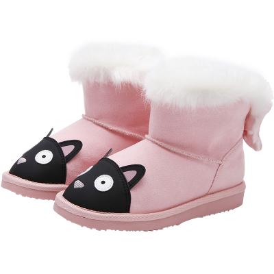 巴拉巴拉女童鞋兒童雪地靴小童棉靴子秋冬季加絨加厚鞋子童鞋洋氣