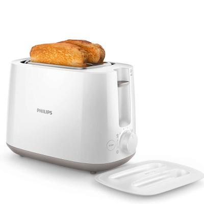 飞利浦(Philips)HD2582家用多士炉 烤面包机 均匀烘烤 大功率 8档烘烤级