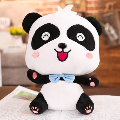 寶寶巴士奇奇妙妙公仔玩具 熊貓公仔毛絨玩偶 布娃娃兒童生日 奇奇(坐姿款) 23cm