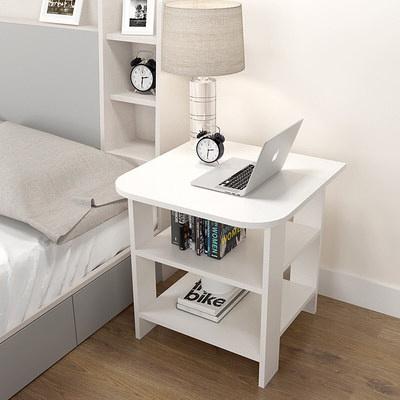 苏宁放心购现代简约创意小桌子迷你经济小户型沙发客厅小茶几边几边柜角几新款简约