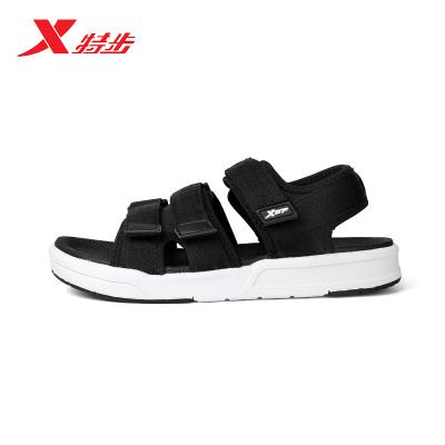 特步 XTEP 情侶超輕涼鞋夏季車縫線專柜涼鞋