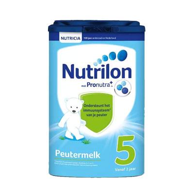 Nutrilon荷蘭牛欄嬰幼兒配方奶粉5段2歲年齡段800g荷蘭原裝進口