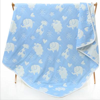 witmoms 嬰兒浴巾嬰童新生兒被子蓋毯子全純棉空調被夏涼被抱被抱毯包被浴毯