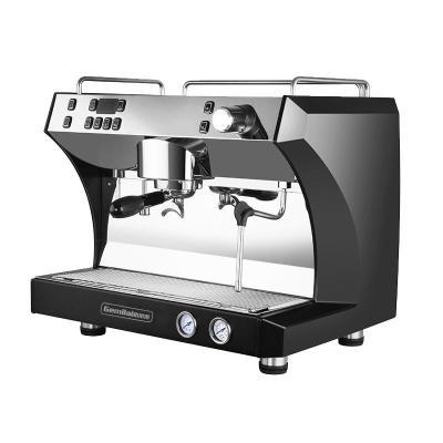 格米莱 (GEMILAI)咖啡机商用单头意式半自动 黑色