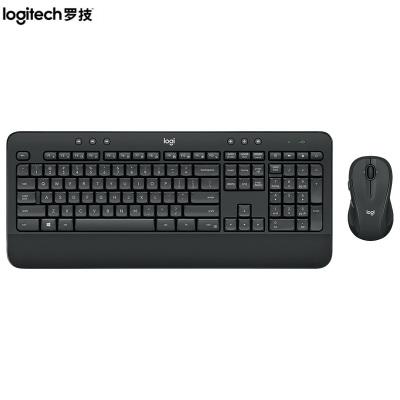 【羅技旗艦店】羅技(Logitech) MK545無線鍵鼠套裝 黑色 防潑濺 優聯 舒適掌托 mk545無線鍵鼠套裝