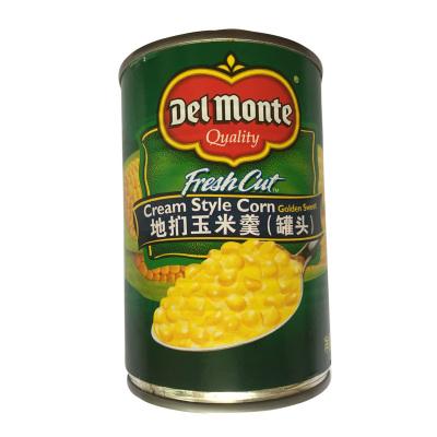 泰國進口 地捫甜玉米羹罐頭制作沙拉披薩地捫玉米羹西餐佐料425g