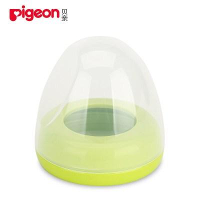 貝親(pigeon) 奶瓶蓋寬口徑貝親奶瓶配件蓋帽組奶瓶圈旋蓋螺牙蓋子/ BA61(綠色)