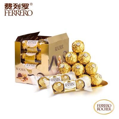 費列羅榛果威化巧克力食品零食禮盒48粒 3*16條裝婚慶喜糖