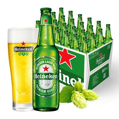 喜力(Heineken)啤酒 330ml*24瓶 整箱裝 新老包裝提交發貨中