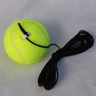 初級訓練網球兒童訓練網球閃電客狗狗耐咬網球初學者高彈力練習訓練網球 帶繩訓練網球4米彈力繩