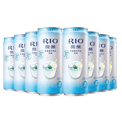 【酒廠自營】RIO銳澳微醺乳酸菌口味雞尾酒套餐 預調酒洋酒330ml*8罐