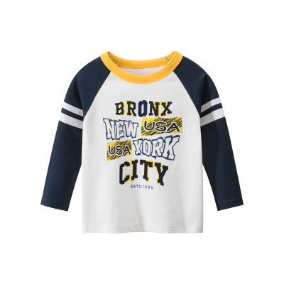 品牌童裝秋季新款2020 韓版兒童T恤寶寶衣服打底衫元氣小猴STRONG MONKEY