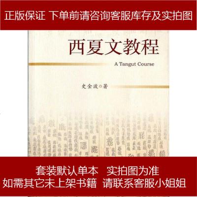西夏文教程 史金波 社會科學文獻出版社 9787509749111