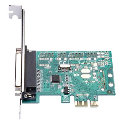 魔羯(MOGE)PCIEx1并口卡 MC2326 臺式機IEEE1284擴展卡 LPT打印機接口 PCIE轉并口轉接卡