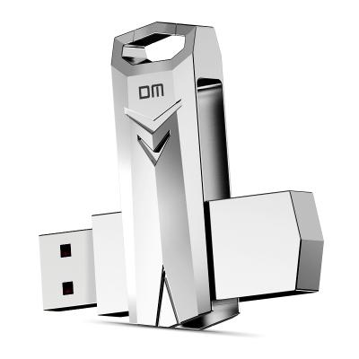 DM 128GB USB3.0 U盘 战士PD096系列 可旋转电脑u盘车载高速优盘