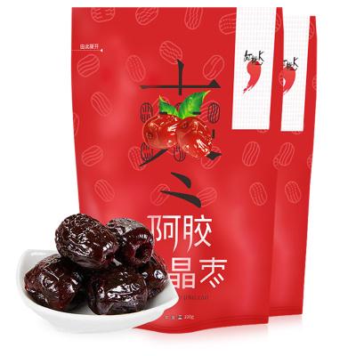 【紅桃K】東阿水晶阿膠棗 100g*2 2袋裝 無核個大好吃香甜大紅棗