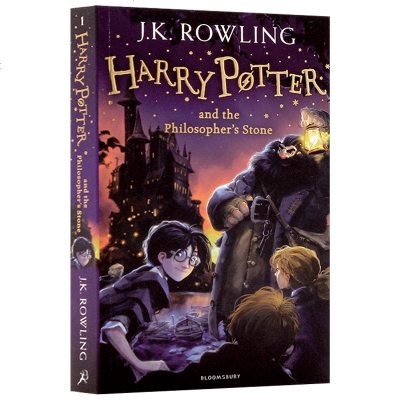 0602正版 哈利波特与魔法石英文版 Harry Potter and Philosopher's Stone 英文