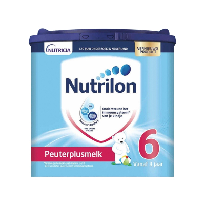 Nutrilon 荷蘭牛欄 諾優能 奶粉 6段(3周歲以上)400g 效期21-09及以后 保稅倉發貨