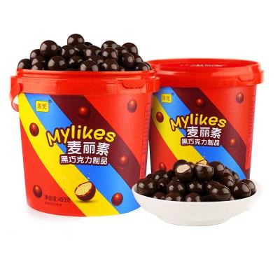 諾梵六一兒童節520麥麗素巧克力大力丸夾心巧克力豆