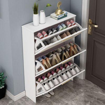 輕奢17cm薄翻斗鞋柜北歐簡約現代玄關廳柜家用口歐式大容量