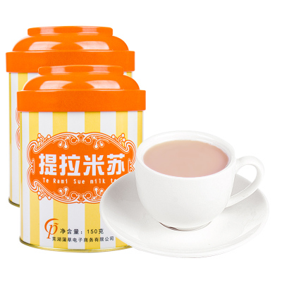 奶茶粉 提拉米蘇奶茶速溶三合一袋裝珍珠奶茶粉沖飲飲料150克/罐