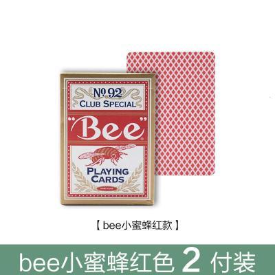 因樂思(YINLESI)小蜜蜂bee撲克牌紙牌 NO.92bee黑杰克21點撲克
