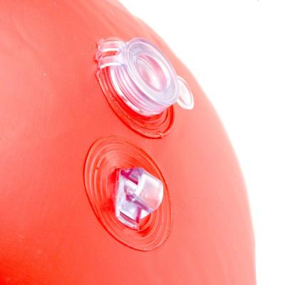 C口吹潛水浮標嘴吹充氣海上DIVER BELOW浮球水面潛水員定位警示 定制
